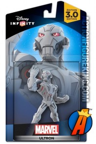 Disney Infinity 3.0 Avengers Ultron figure and gamepiece.