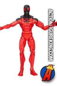 Marvel Legends Scarlet Spider figure from Hasbro.
