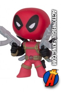 Funko Marvel Mystery Minis variant Deadpool bobblehead figure.