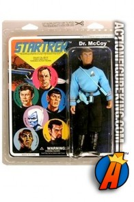 STAR TREK Mego 8-inch repro DR. BONES MCCOY action figure from Diamond Select Toys.
