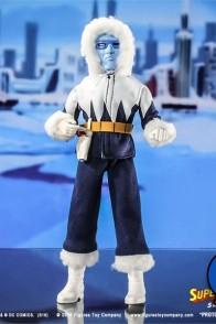 Mego-style Super Friends 8-inch Captain Cold action figure.