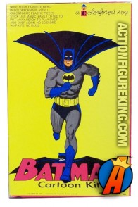 Batman Cartoon Kit plasyset from Colorforms circa 1966.