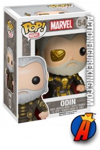 A packaged sample of this Funko Pop! Marvel Odin vinyl bobblehead figure.