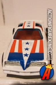 Hot Wheels Captain America die-cast car circa 1978.
