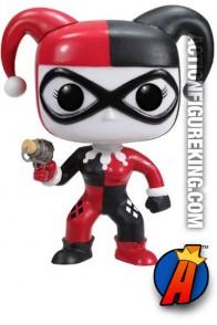 Funko 6-inch Pop Heroes Harley Quinn figure.