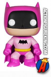Funko Pop! Heroes variant PINK BATMAN Figure Number 1.