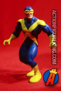 Vintage 1990 Marvel Comics X-MEN CYCLOPS PVC figure.