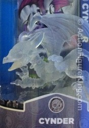 Skylanders Spyro's Adventure Variant Crystal Clear Cynder figure from Activision.