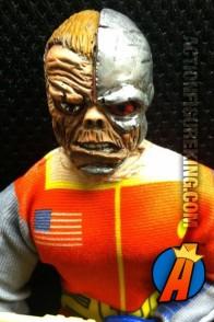 Custom Mego Deathlok figure with authentic fabric uniform.