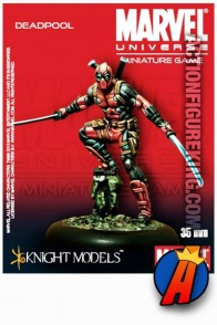 Marvel Universe 35mm DEADPOOL metal figure from Knight Models.