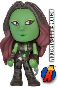 Funko Marvel GOTG Mystery Minis Gamora bobblehead figure.