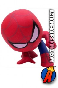 Funko Marvel Mystery Minis Spider-Man bobblehead figure.