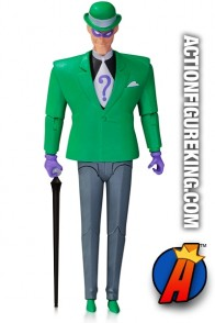 Batman the Animated Series 6-inch scale RIDDLER action figure (suited version) from DC Collectibles.