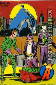 1976 Batman - The Villains 17-piece tray puzzle from Playskool.