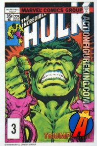 3 of 24 from the 1978 Drake's Cakes Hulk comics cover series.