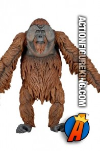 NECA Dawn of the Planet of the Apes Maurice action figure.