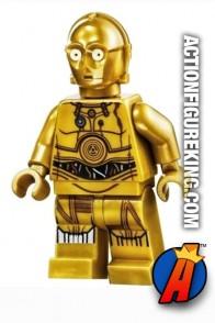LEGO STAR WARS C-3PO Minifigure.