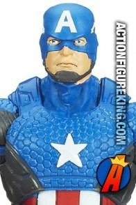Marvel Legends Infinite Series Captain America figure from Hasbro.