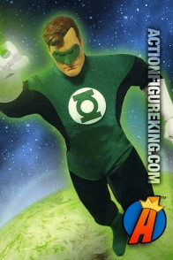 Hal Jordan is here as a sixth-scale action figure with authentic cloth uniform.