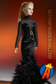 Tonner Black Canary Blonde Bombshell dressed fashion figure from Tonner.