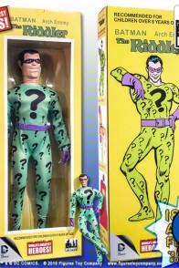 DC Comics quarter-scale Mego Retro RIDDLER aciton figure.