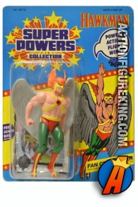 Vintage Kenner Super Powers Hawkman action figure.