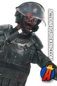 The Walking Dead TV Series 4 Riot Gear Zombie by McFarlane Toys.