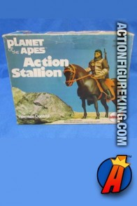 Mego Planet of the Apes Action Stallion Playset.