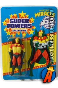 Vintage Kenner Super Powers Collection Mister Miracle action figure.