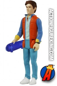 Funko ReAction line Back to the Future Marty McFly action figure.