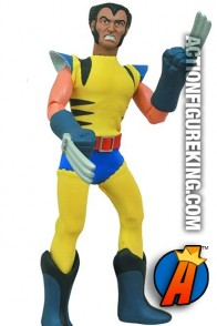 Marvel and Diamond Select present this 8-inch Wolverine action figure.