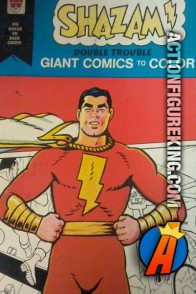 Shazam! Double Trouble Giant Comics to Color coloring book from Whitman.