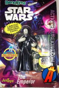 STAR WARS Bend-Ems THE EMPEROR Bendable Figure.