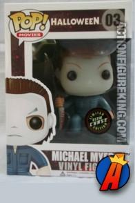 Funko Pop! Movies variant Glow-in-the-Dark Michael Myers Halloween vinyl figure.