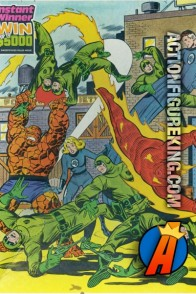 1981 Whitman Fantastic Four 100-piece jigsaw puzzle (4605-25).