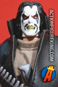 8-inch scale custom Lobo action figure with cloth uniform.