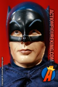 Incredible fully articulated Adam West as Batman custom sixth scale action figure.