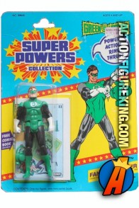 Kenner Super Powers Collection Green Lantern action figure.