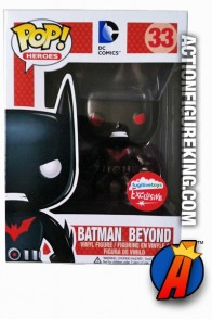 Funko NYCC Exclusive Metallic Variant BATMAN BEYOND Pop! Figure.