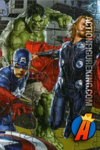 From Cardinal comes this Avengers lenticular movie jigsaw Puzzle.