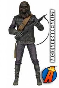Classic Planet of the Apes Gorilla Soldier figure from Neca.
