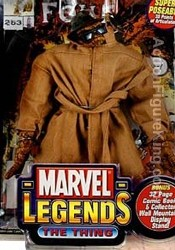 Marvel Legends Trenchcoat Thing Variant action figure.