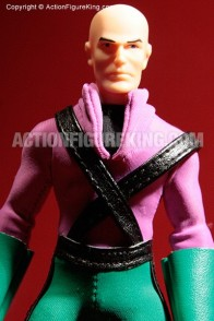 Removable outfit retro-action Lex Luthor figure.