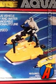 Mego Micronauts Aquatron amphibious vehicle.