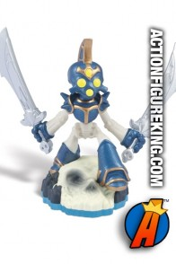 Swap-Force Twin Blade Chop Chop figure from Skylanders and Activision.