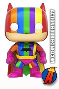 Funko Pop! Heroes NYCC Exclusive Variant Rainbow BATMAN Figure.