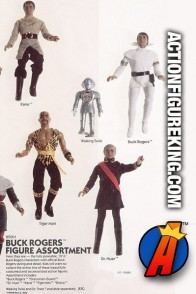 Mego Sixth-Scale Buck Rogers in the 25th Century Line of Action Figures.