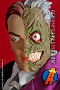 13 inch DC Direct fully aticulated Two-Face action figure with authentic fabric outfit.