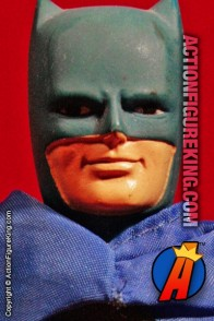 Fully articulated Mego 8-inch Batman action figure with removable fabric outfit.