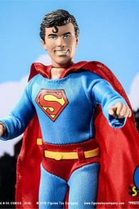 8-Inch Mego Style SUPERBOY action figure from Figures Toy Company.